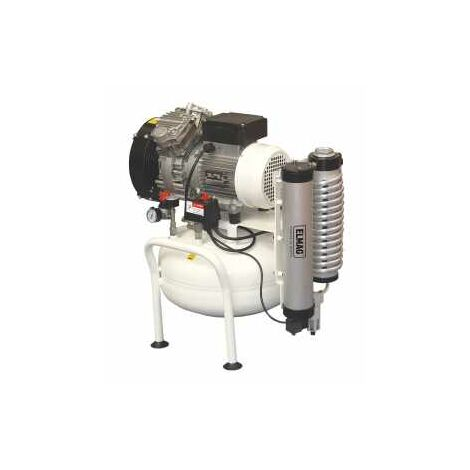 ELMAG Dentalkompressor 240/8/25W E x TREME 2D 25L 1,5CV (inkl. Adsorptionstrockner)
