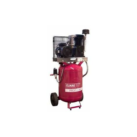 ELMAG Kompressor PROFI-LINE PL-V 600/10/100 D (fahr bar, mit Filterregler)