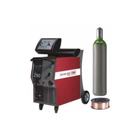 ELMAG Schutzgas-Schweißgeräte DIGI-MIG 250 - Set
