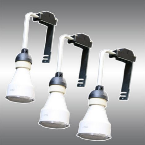 Elro GU7E/3 - 3 x bulbs 7W 2700K + 3 Alimentations GU10 230V