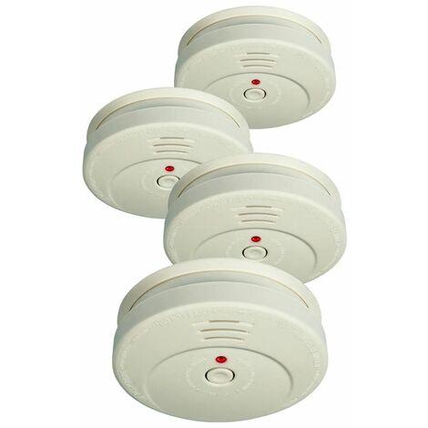 ELRO Smoke Detector RM149C/4 Set of 4