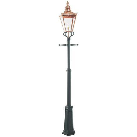 Elstead - 1 Light Outdoor Single Post Copper, E27