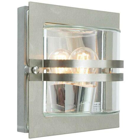Elstead - 1 Light Outdoor Wall Light Stainless Steel IP65, E27