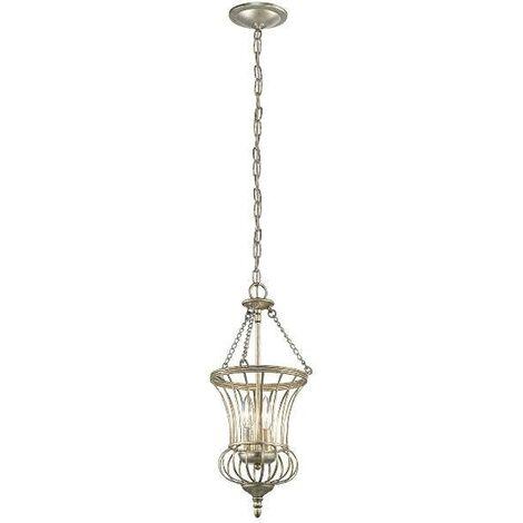 Elstead - 2 Light Small Ceiling Pendant Gold, E14