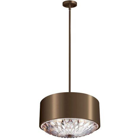 Elstead Botanic - 4 Light Ceiling Pendant Brass, E27