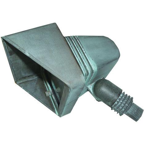 """main image of """"Elstead Bronze - Foco de suelo exterior LED 4 luces Verdigris IP44"""""""