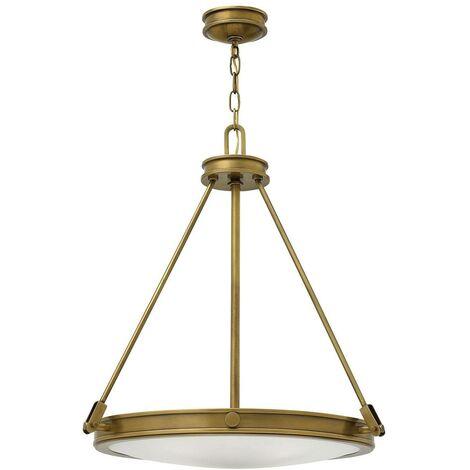 Elstead Collier - 4 Light Ceiling Pendant Brass, E14