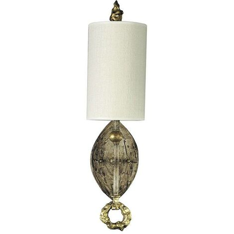 Elstead Dumaine - 1 Light Indoor Wall Light Gold, E27
