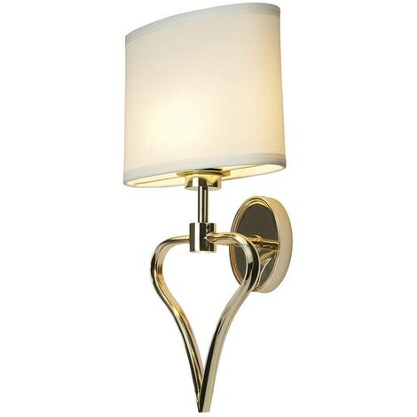 Elstead Falmouth - 2 Light Indoor Wall Light Gold, G9