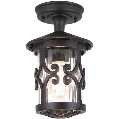 Elstead Hereford Porch Lantern 1 x 100W E27 220-240v 50hz IP23 Class I