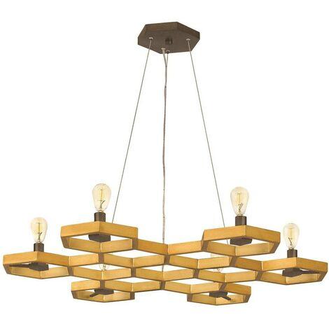 Elstead Moxie - 6 Light Ceiling Pendant Chandelier Gold, E14