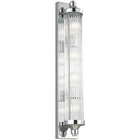 Elstead Paulson - 4 Light Ceiling Pendant Light Chrome IP44, G9