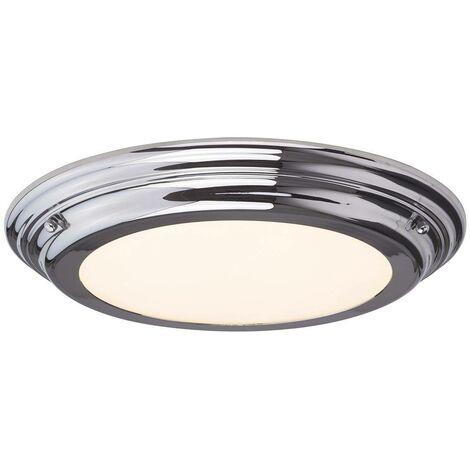 "main image of ""Elstead Welland - LED 3 Light Semi-Flush - Graphite"""