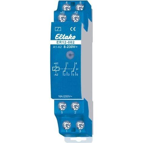 ELTAKO ER12-002-8 230V UC RELAIS DE COMMANDE ET DE COMMUTATION
