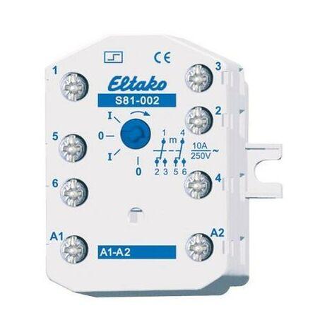 Eltako Stromstoßschalter f.EB/AP S81-002-230V