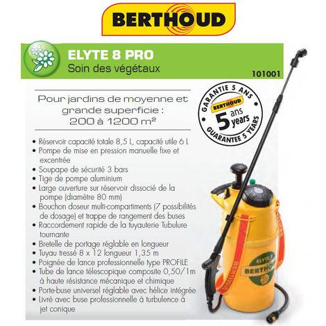 Elyte 8 Pro - Pulvérisateur à pression préalable - Berthoud 101001 - Garantie 5 ans