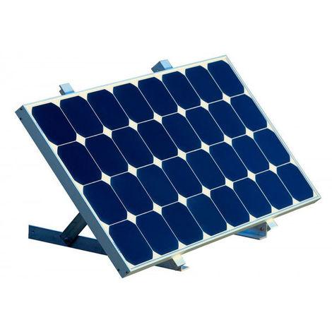 EM - Kit de montaje en pared/suelo para paneles solares tamaño L