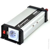 EM - Transformador DC/AC 12/230V 600W casi-sinosoidal EM