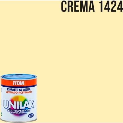 Email à l'eau Unilak satin | 375 ml - 1424 Crème