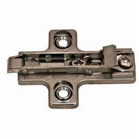 Embase clipsable SALICE - réglable - 32 x 37 mm - BAR3R09