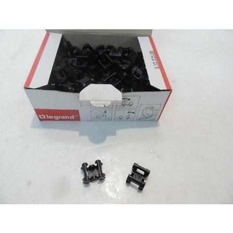 Embase de fixation noire pour collier serre-câbles COLSON et COLRING (Boite de 100) pour goulotte DLP 3D LEGRAND 030894