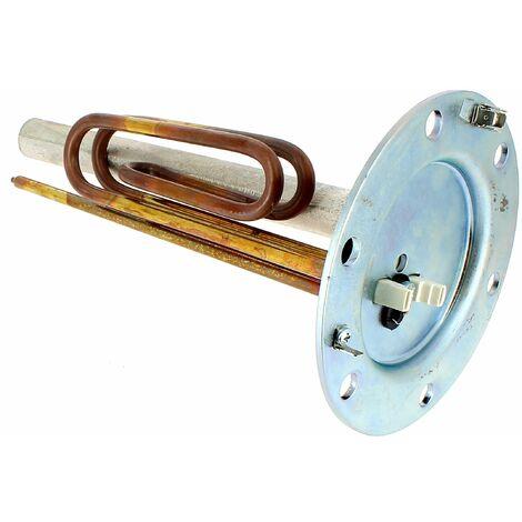 Embase resistance 6 trous 2200w+joint pour Chauffe-eau Thermor, Chauffe-eau Atlantic