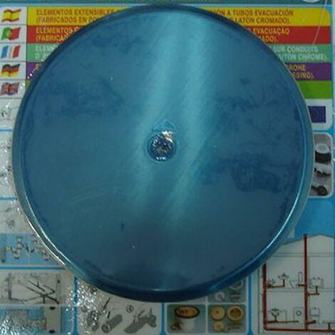 "main image of ""Embellecedor Baño Bote Sifonico 135Mm Inox S&M 751868"""