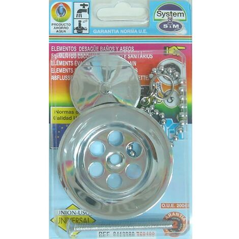 Embellecedor Baño Lavabo/Bide Cromo S&M 750489