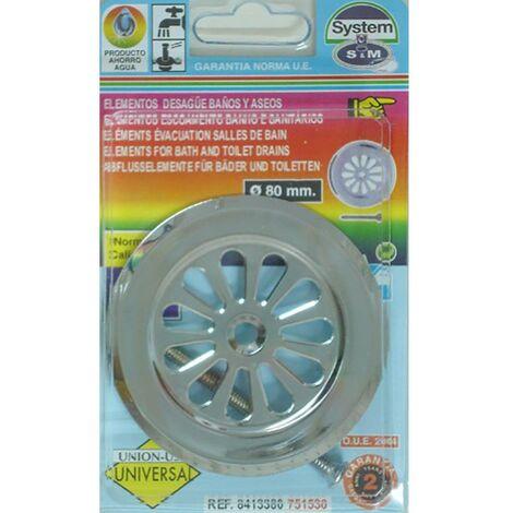 Embellecedor Baño Plato Ducha Cromo S&M 751530