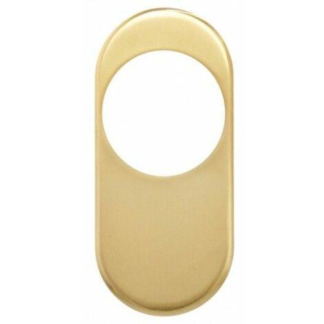 Embellecedor Escudo Seguridad 1850Emb-2 Oro Puerta Exterior Mcm