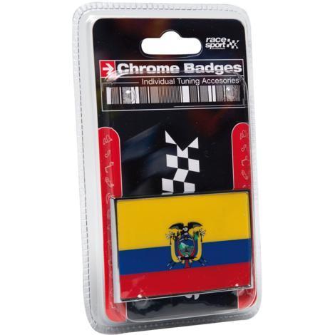Embleme Chrome Equateur