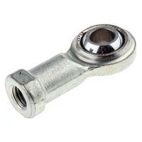 Embout à rotule RS PRO, alésage 10mm, longueur 56mm, Filetage: M10 x 1,5 Métrique Femelle, Acier
