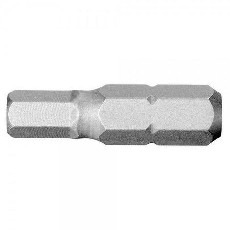 Embout de vissage 5mm standard (série 1) pour vis 6 pans creux 5