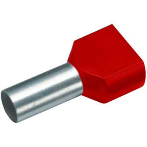 Embout Simple dextr/émit/é de c/âble Vogt Verbindungstechnik 440812,47 1 x 10 mm/² x 12 mm Non isol/é m/étal 100 pc s