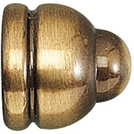 Embout enjoliveur - Décor : Bronze - Matériau : Zamac - ITAR