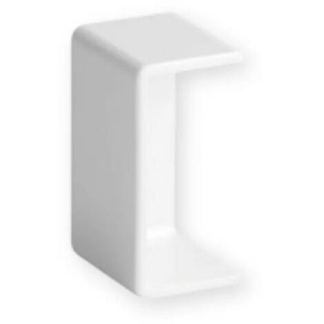 Embout Goulotte Distribution TA-E Blanc LAN 40X25 W0 IBOCO B00695