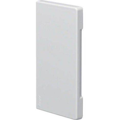 Embout Hager BR6513069010 BR6513069010 embout (l x H x P) 130 x 68 x 7 mm blanc pur (RAL 9010) 1 pc(s) C131771