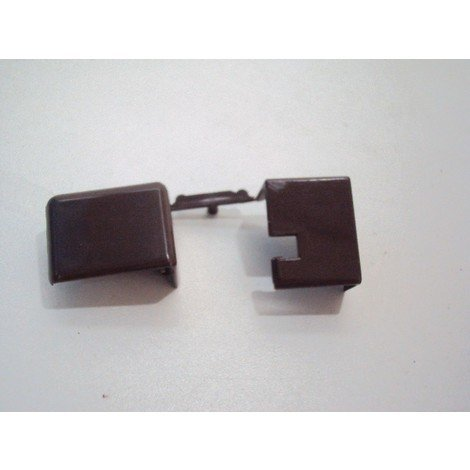 Embout marron pour goulotte 20mm DLP LEGRAND 033404