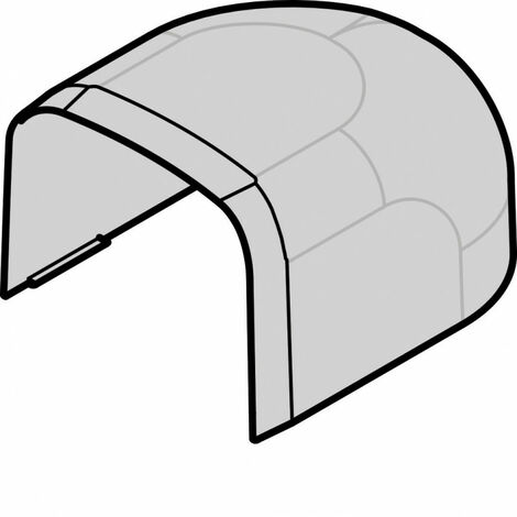 Embout p CLM30035 p 30mm h 35mm IK08-IK10 PVC rigide RAL 9010 blanc paloma (CLM300356)