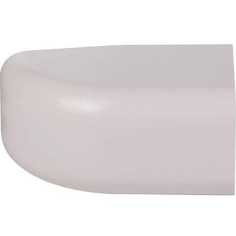 Embout plastique rigide beige Largeur goulotte (mm) 25