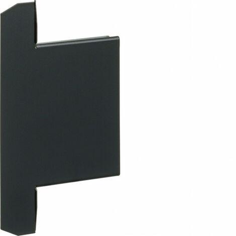 Embout pour BKIS épais 25mm acier RAL 9011 noir (BKIS251306E9011)