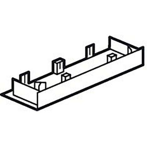 Embout pour GTL universelle Viadis 250x65mm pour tableau 13 modules blanc Artic (16703)