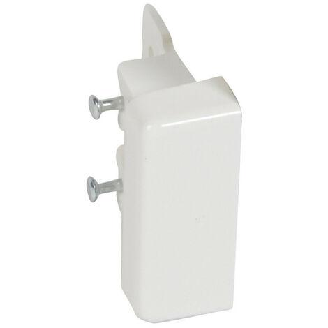 Embout pour moulure DLPlus 32x12,5mm blanc (031203)