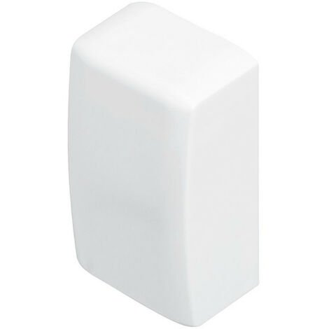 "main image of ""Embout pour moulure Keva 32x12mm blanc Artic (11525)"""