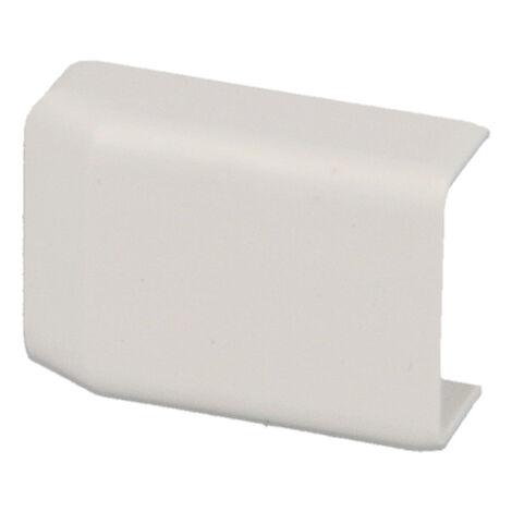 Embout pour moulure PVC blanche 20 x 10 mm KOPOS