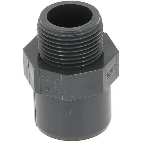 "main image of ""Embout PVC pression mâle-femelle Ø32-25 mâle 20-27"""
