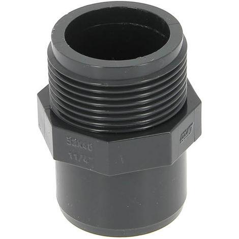 """main image of """"Adaptateur PVC pression FM-M - Générique - Plusieurs modèles disponibles"""""""
