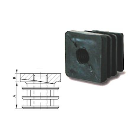 """main image of """"Embout taraudé pour tube carré 30x30 - M10"""""""