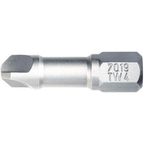 Embout Tri-Wing 4 longueur 25 mm Wiha 7019