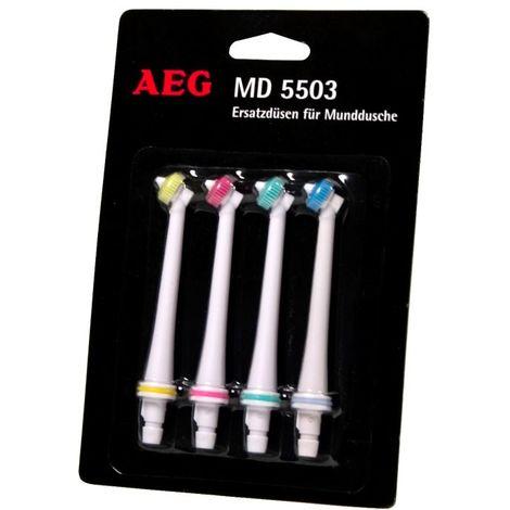 Embouts de remplacement buses hydropulseur santé beauté bouche AEG MD 5503